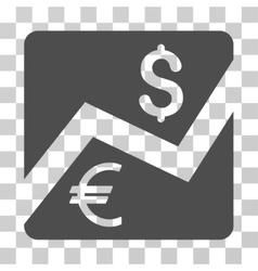 Financial Diagram Icon vector
