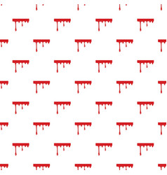 Flowing drop of blood pattern vector