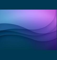Gradient colors background vector
