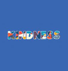 Kindness concept word art vector
