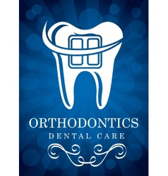 Orthodontics vector