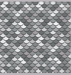 paper scales seamless squama silver vector image
