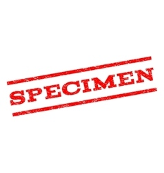 Specimen Watermark Stamp vector