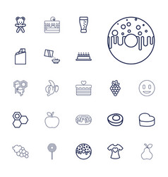 Sweet icons vector