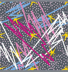 abstract seamless pattern for girls boys clothes vector image vector image