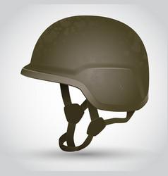 army helmet vector image