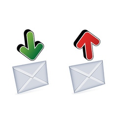 email signs vector image vector image