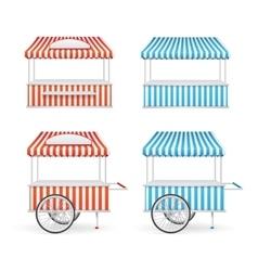 Market Stall Set vector image