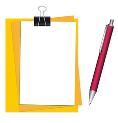 office stationary vector image