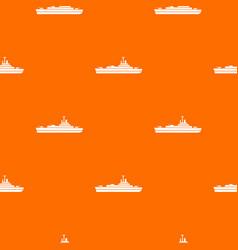 warship pattern seamless vector image vector image