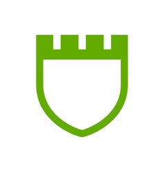 Fortress-Crest-380x400 vector image vector image