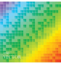 Retro pattern of geometric shapes Colorful-mosaic vector image vector image