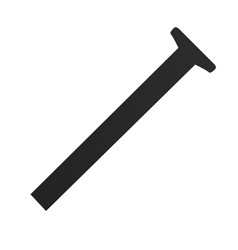 construction ruler icon vector image