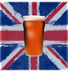 British Pint vector