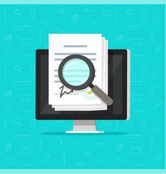 corporations bylaws online analysis inspection vector image