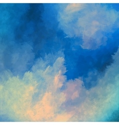 Dramatic Sky Painting Background vector image