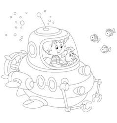 Little submariner vector