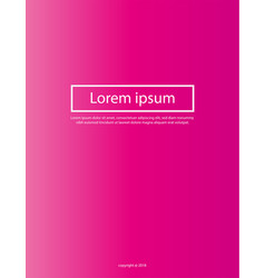 minimal covers design a4 cover design gradients vector image