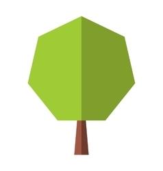 New tree flat icon vector image