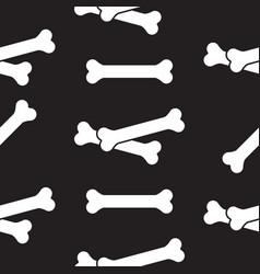 Pattern bone design vector