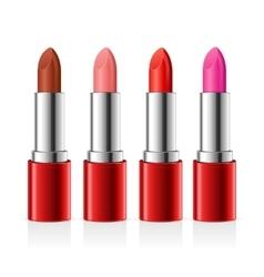 Realistic Lipstick Set vector image