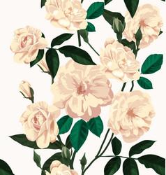 rose seamless pattern3 vector image