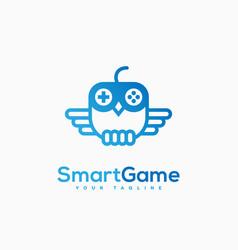 smart game logo vector image