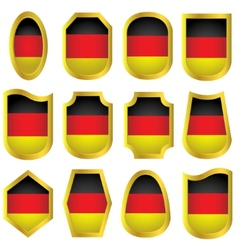 Germany signs set vector image vector image