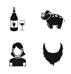 Theater circus bristles and other web icon in vector