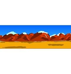 Background a mountain range vector