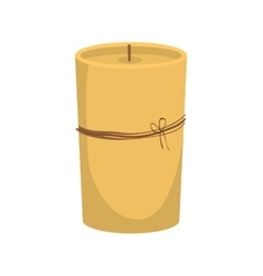 Candle icon Candlelight design graphic vector image