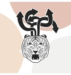 Design and Tiger vector