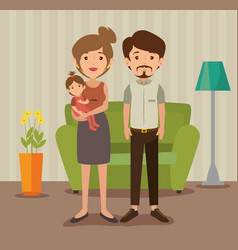 Family related design vector