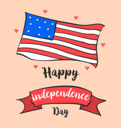 independence day celebration style collection vector image