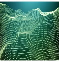 Landscape Background Terrain 3d Shiny Grid vector