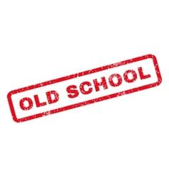 Old school rubber stamp vector