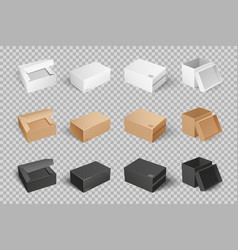 Parcel with adhesive tape 3d isometric icon vector