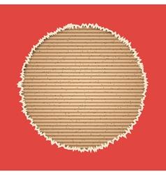 Cardboard background vector image
