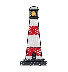 lighthouse icon image vector image