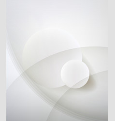 Abstract minimalist design in a light tone Two vector image vector image