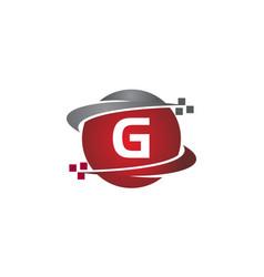 Technology transfer letter g vector
