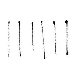 Ink splash isolated on white background vector image