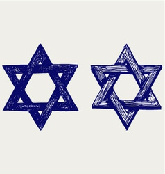 Judaic religion vector image