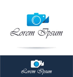 Photographer and photography industry icon vector image vector image