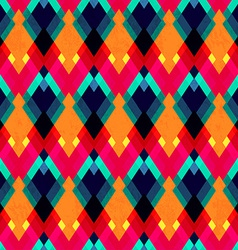 bright zigzag seamless pattern vector image