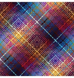 Diagonal plaid pattern vector