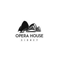 Opera house symbol vector
