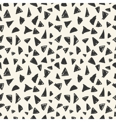 Simple seamless pattern of triangles vector image vector image