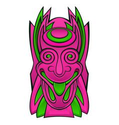 Tiki idol mask vector
