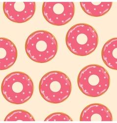 donuts pink vector image